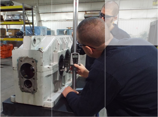 Gearbox and motor repair services at smith services for Smith motor company wv